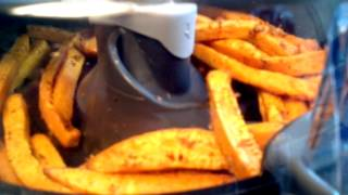 T-fal Actifry Making Sweet Potato Fries...