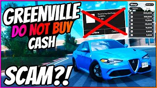 DO NOT BUY CASH!! - Greenville Wisconsin Roblox - Greenville Scam?! - GV1 - GV4 - Blubber