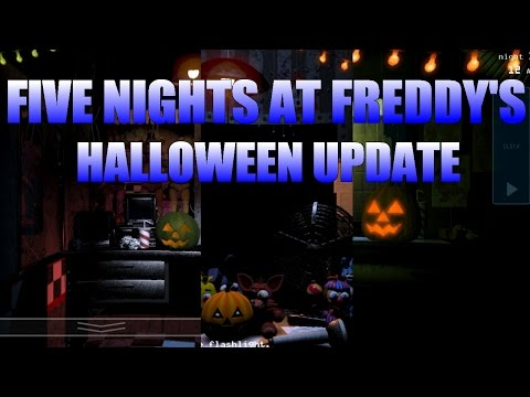 Five Nights at Freddy's 1, 2 & 3 HALLOWEEN UPDATE EASTER EGG!