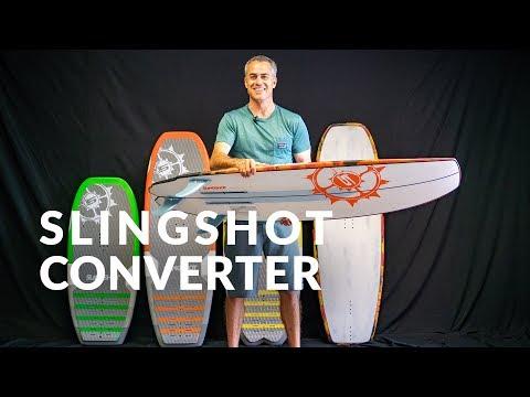 2019 Slingshot Converter Foilboard / Kitesurfboard Review
