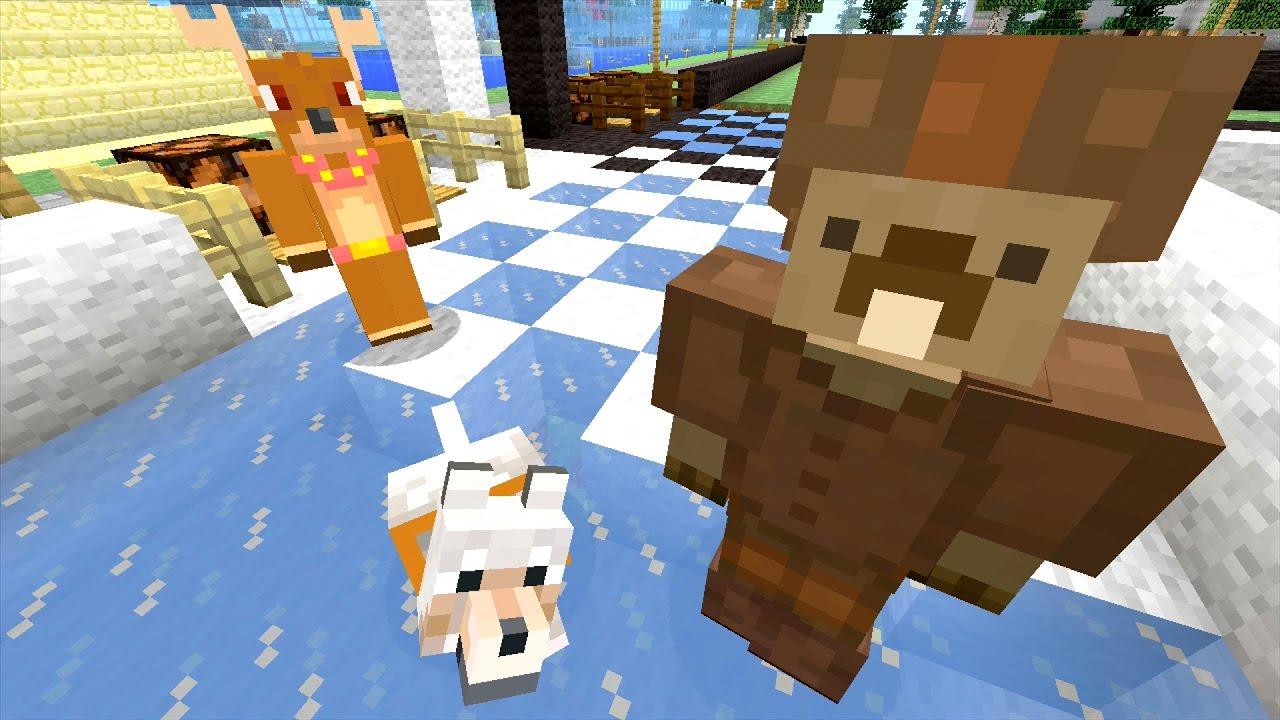 Minecraft Xbox Ice Race Track 496