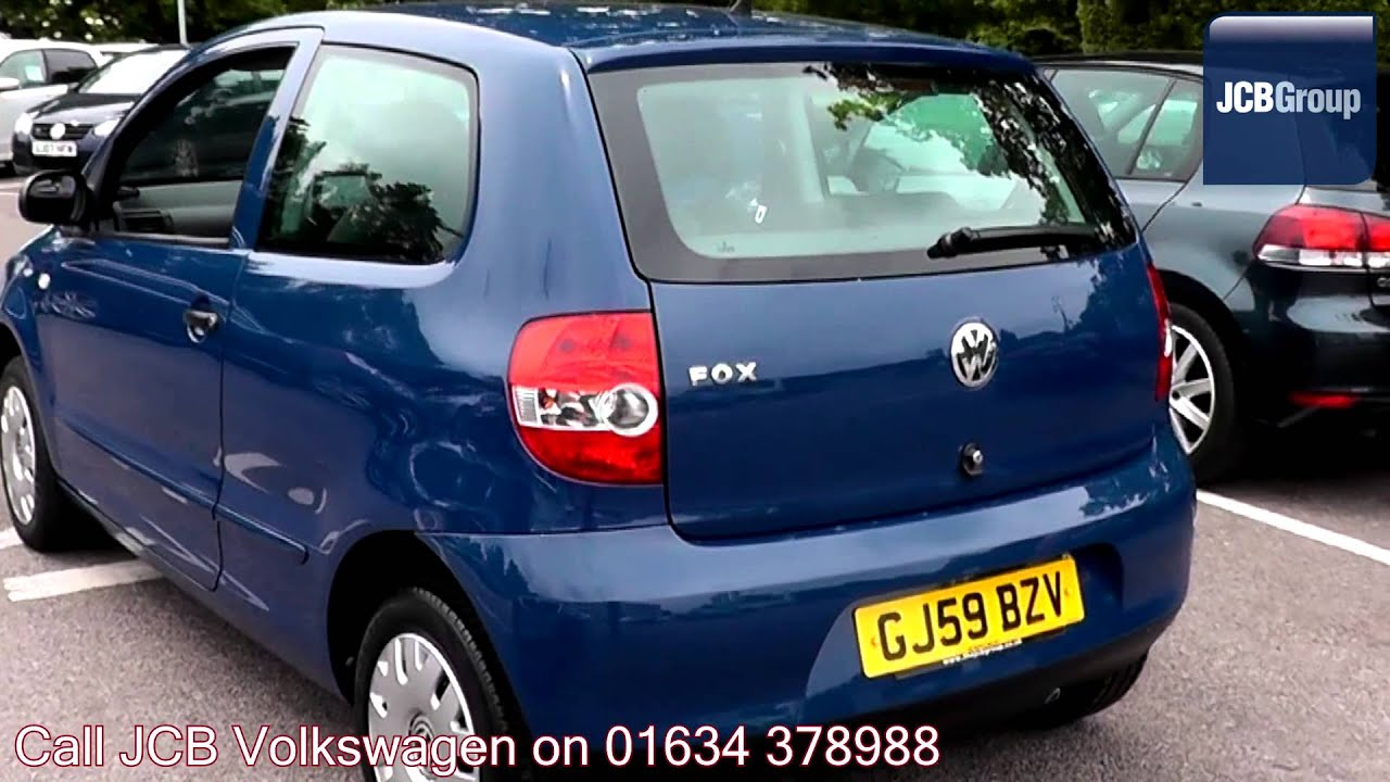 2009 volkswagen fox indian blue metallic gj59bzv for. Black Bedroom Furniture Sets. Home Design Ideas