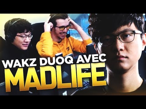 LE THRESH DE MADLIFE EN DUOQ AVEC WAKZ - KOREAN LADDER DUOQ (Solary Korea)