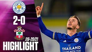 Highlights & Goals | Leicester City vs. Southampton 2-0 | Telemundo Deportes