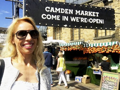LONDON VLOG PART 1 - From Stansted to Camden and Primrose Hill