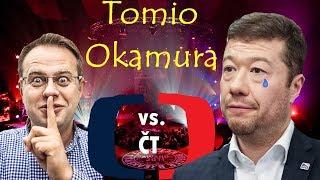 Tomio Okamura dostává zabrat v Superdebatě ČT