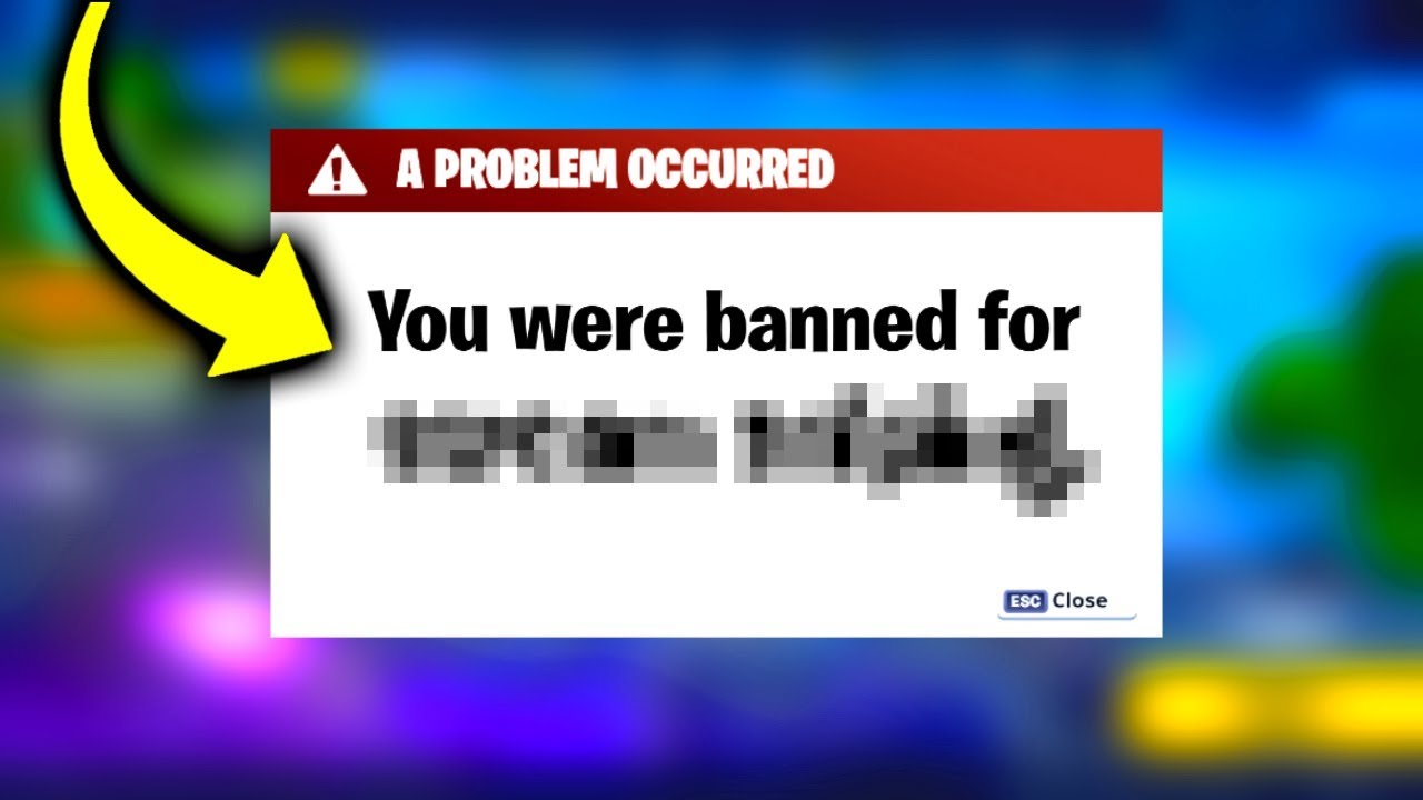 Fortnite BANNED Me For This Video