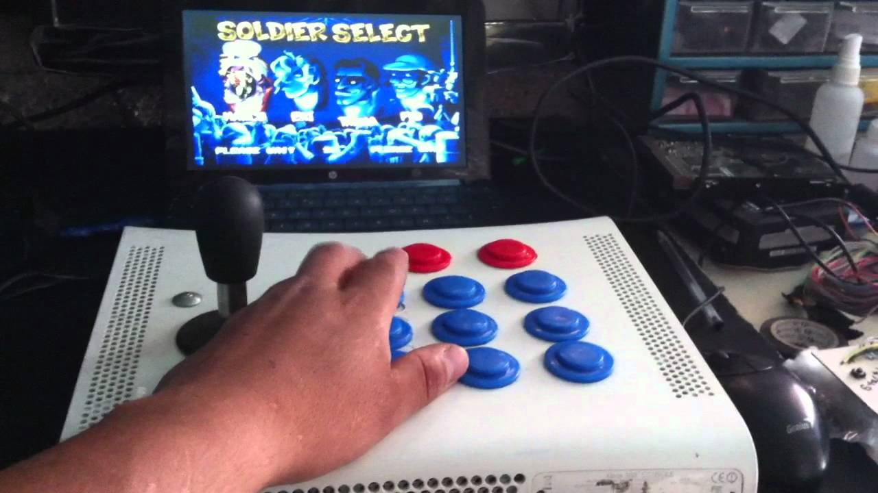 TABLERO ARCADE PARA PC CON UN XBOX 360 YouTube