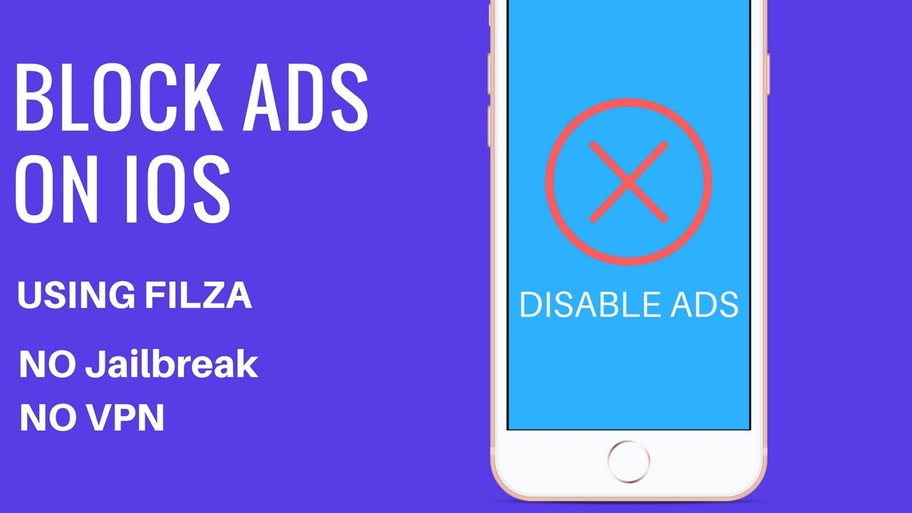 Block Ads On iOS 11 using Filza - Disable Ads - No Jailbreak - No VPN