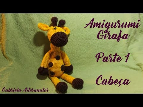 Amigurumi de girafa | Padrões de amigurumi, Minions de crochê, Girafa | 360x480
