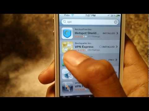 How to Use Pandora App in Any Country (iPhone/iPad/iPod Touch)