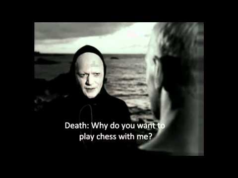 The Seventh Seal - The knight meets Death [English sub]