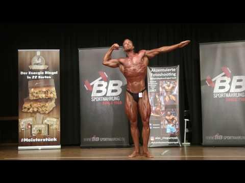 Dominik Horcher Classic Bodybuilding 2 Posing @Crown of Rheingau 2017