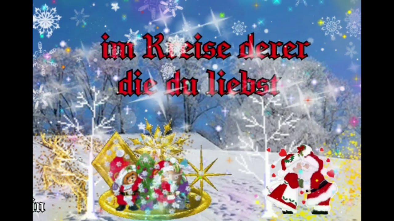 Erster Weihnachtsfeiertag Grusse Youtube