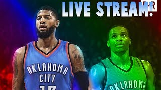 Nba free agency live  reaction! nba 2k18 hype stream!