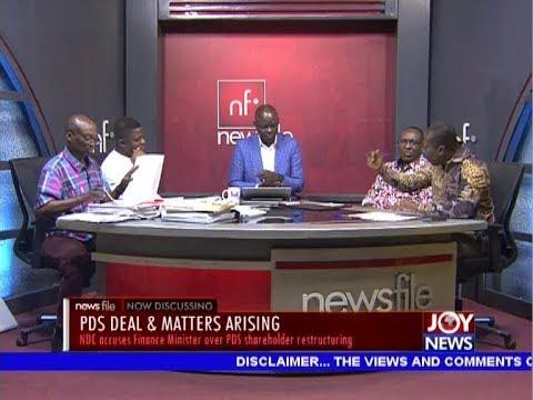 PDS Deal & Matters Arising – Newsfile on JoyNews (19-10-19)