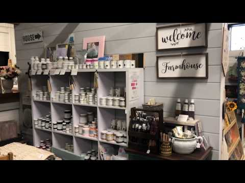 A Tour of My Booth At Camp Hill Antique Centre, Brisbane.