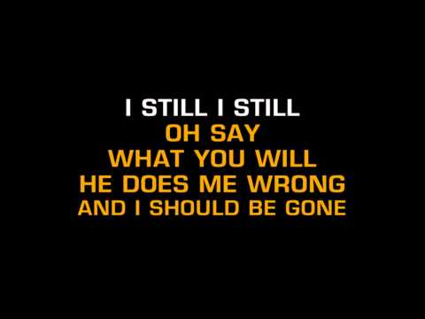 Macy Gray - Still (Karaoke)