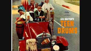 Les Baxter - Teen drums (1960)  Full vinyl LP