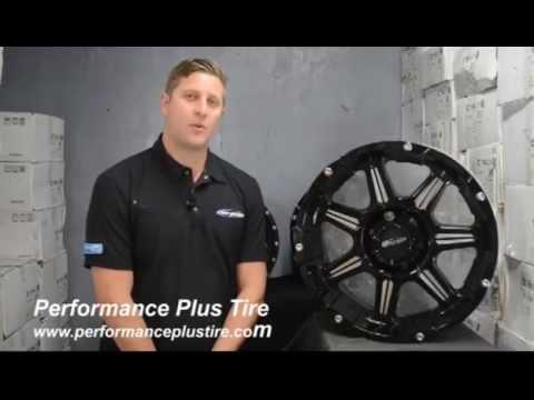 LRG Wheels Type 108 Black Finish