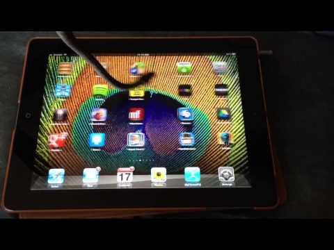Living iPad Stylus: Rambo the Snake (Carpet Python)