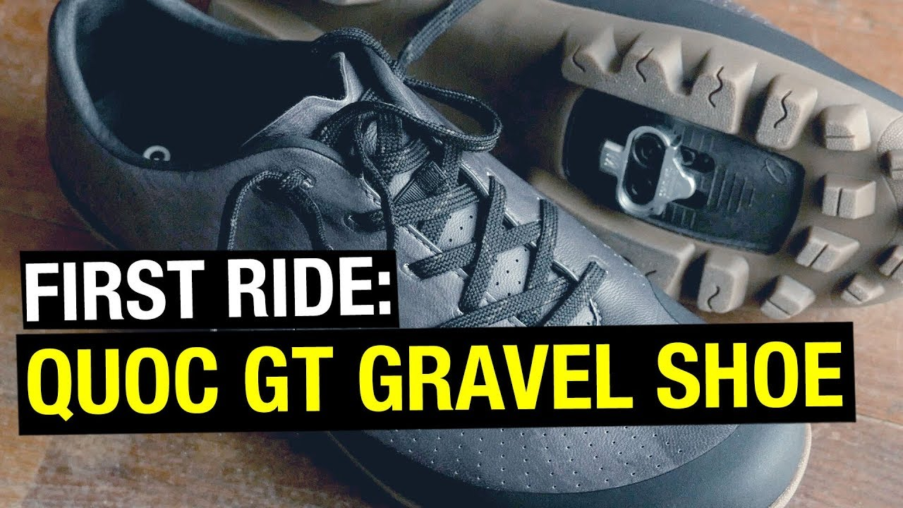 c0f08716310 Best Cycling Shoes for Gravel Riding? QUOC GT - YouTube