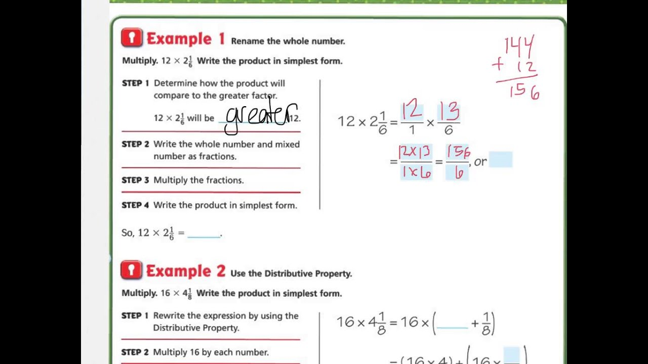 Go Math Grade 4 Answer Key Chapter 5 Review Test - review ...