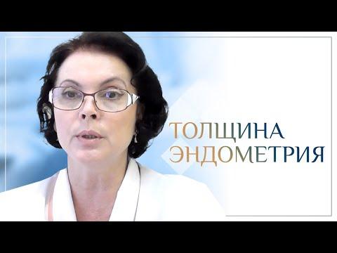 Толщина эндометрия