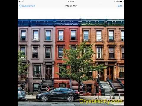 Manhattan brownstones for sale youtube for Townhouse with garage nyc