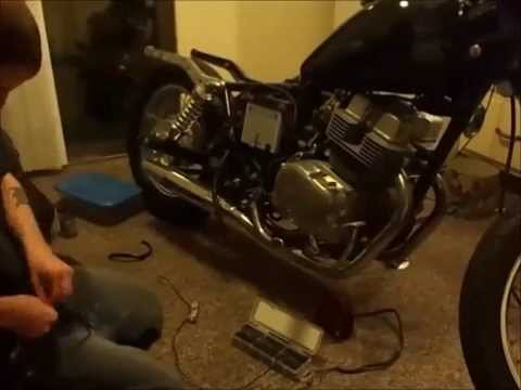 86 honda rebel cmx250 wiring - YouTube