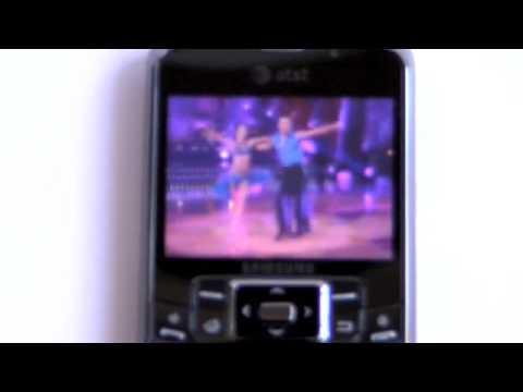 Samsung Jack i637 Windows Mobile Smartphone Video Review