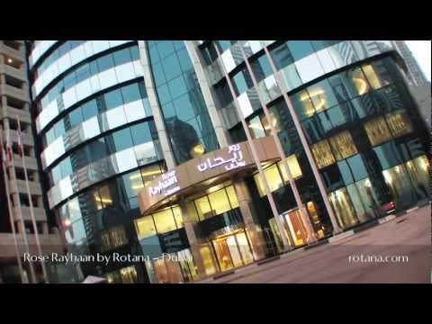 Rose Rayhaan by Rotana, the world's 2nd tallest hotel. Dubai, United Arab Emirates