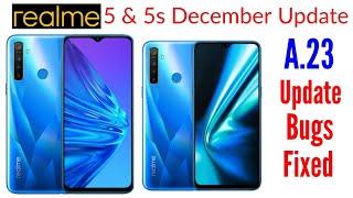 Realme 5 Update | Realme 5s Update | Realme 5 A.23 Update | Realme 5s A.23 Update | Realme Update