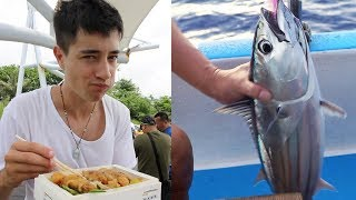 GIANT Fish in GREEN ISLAND + TASTY Taiwanese Lunchbox | East Coast Taiwan Food Tour pt. 3