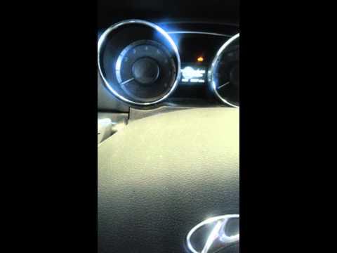 Hyundai Sonata 2011 will not start engine