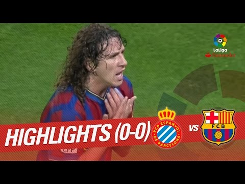 Resumen de RCD Espanyol vs FC Barcelona (0-0) 2009/2010
