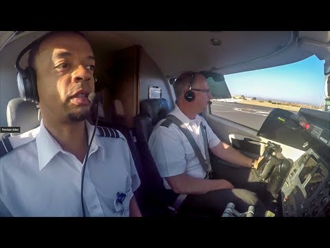 Van Nuys to French Valley Lear 60 ATC Audio no cuts (Full Flight)