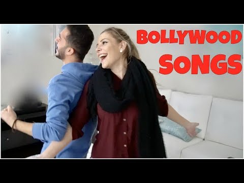 SINGING BOLLYWOOD SONGS *with a WHITE GIRL*
