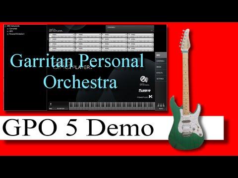 Garritan personal orchestra manual