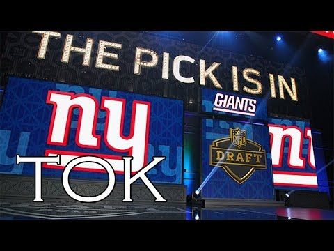 2018 NFL Draft: Should Giants Trade 2nd Overall Pick?