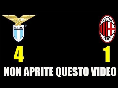 NON APRITE QUESTO VIDEO! • LAZIO-MILAN 4-1 [SERIE A]