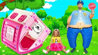 Download Sasha and Max sing Police song | Nursery Rhymes & Kids Songs Mp3 and Videos