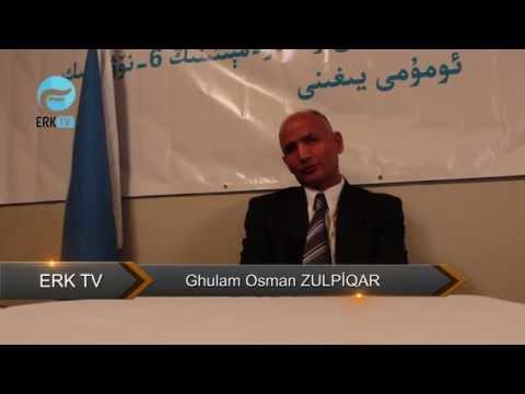 Erk Tv : Ghulam Osman Ependim Bilen Söhbet