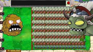 Team Cactus Vs  Behind Gargantuar Giga Gargantuar Vs Dr. Zomboss