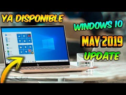 NUEVO Windows 10 MAY 2019 Update / YA DISPONIBLE / TODAS Las NOVEDADES!