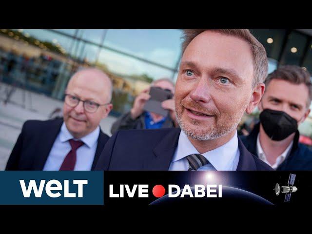 AMPEL: FDP-Vorstand und -Fraktion wohl für Ampel-Koalitionsverhandlungen   WELT Live dabei