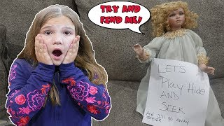 Hide And Seek With The Doll Maker! Is Carlie Turning Into A Doll?