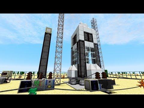 Treibstoff für die Rakete herstellen! - Minecraft Modpack Forever Stranded #130