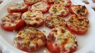 broiled tomatoes with mozzarella classy cookin with chef stef