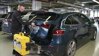 Mercedes-Benz Real-Driving-Emissions-Test (RDE-Test) – WLTP Certification